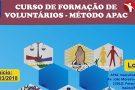Abertas inscrições na APAC de Itaúna para curso de formação de voluntários