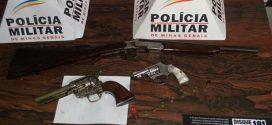 Divinópolis: trio é detido com armas e moto roubada