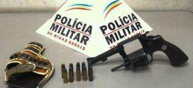 Pará de Minas: vigilante é preso como arma e munições
