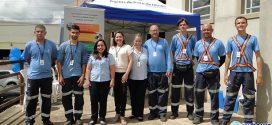 Equipe itinerante da Águas de Pará de Minas atende moradores do bairro Papa João Paulo II nesta quarta