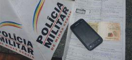 Pará de Minas: dupla é presa após assaltar e roubar celular