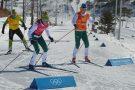 Equipe brasileira de cross country treina para provas nos Jogos de Inverno