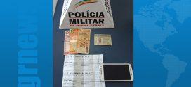 Igaratinga: estelionatário é preso em flagrante tentando comprar pneus com cheques falsificados