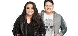 Talento artístico e vocal de Luiza e Maurílio. Assista