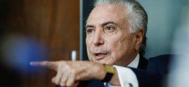 Michel Temer participa de reunião do Conselho Militar de Defesa em Brasília