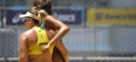 Ana Patrícia e Rebecca avançam à semifinal do Circuito Sul-Americano de vôlei de praia