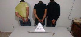 Arrombadores presos em flagrante na agência dos Correios em Abaeté