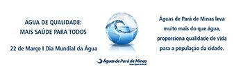Banner Águas de Pará de Minas