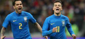 Brasil supera a Rússia em amistoso em Moscou
