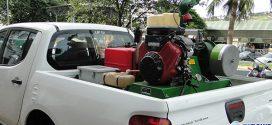Carro Fumacê combate mosquito transmissor da Dengue em Nova Serrana