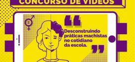 Inscrições prorrogadas para concurso de vídeos sobre desconstrução do machismo nas escolas de MG