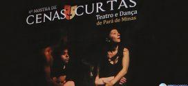 Os melhores da 4ª Mostra de Cenas Curtas de Teatro e Dança se apresentam no Teatro Municipal