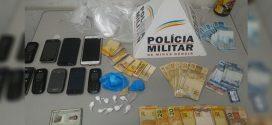 Pará de Minas: casal é preso com máquina de cartão de crédito usada no tráfico