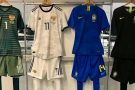 Brasil jogará todo de azul contra a Rússia
