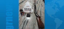 Itapecerica: arma de fogo apreendida após denúncia anônima