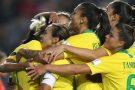 Brasil lidera com Argentina Copa América de futebol feminino