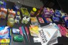 Pitangui: recuperados materiais furtados em mercearia, mas suspeito de furtos na zona rural escapa