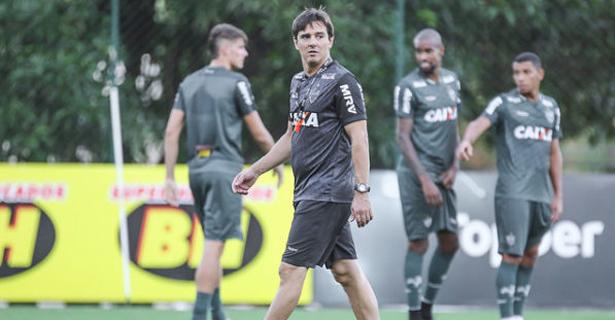 Galo inicia preparação para enfrentar o Corinthians