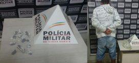 Dores do Indaiá: indivíduo é preso em flagrante por tráfico de drogas