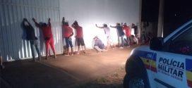 PM realiza Operação Batida Policial na região da Ponte Grande em Pará de Minas