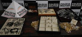 Assaltante é preso e militares recuperam produtos avaliados em R$ 70 mil roubados em joalheria de Divinópolis