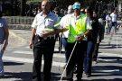 Funcionários da Rodoviária de BH são capacitados sobre orientação e mobilidade para pessoas com deficiência visual