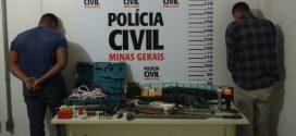 Pará de Minas: Polícia Civil prende trio por furto de gado