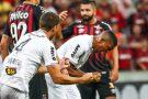 Bremer comemora 1º gol como profissional do Galo