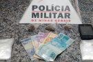 Mulher presa e adolescente apreendido com maconha em Pará de Minas