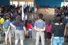 Projeto educativo promove interação e aprendizado entre escoteiros e alunos de pré-escola