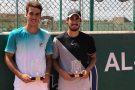 Em final brasileira no tênis, Meligeni vence Orlandinho e é campeão no Egito