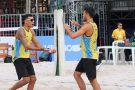 Brasileiros levam cinco das seis medalhas possíveis em etapa do Circuito Mundial de vôlei de praia