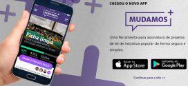 Projetos de iniciativa popular podem ser apresentados por aplicativos