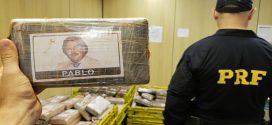 PRF apreende em Curitiba 889 quilos de cocaína