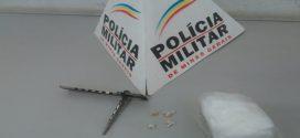 Adolescente detido tentando engolir pedras de crack no JK em Pará de Minas
