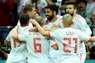 Espanha tem dificuldades contra o Irã, mas vence