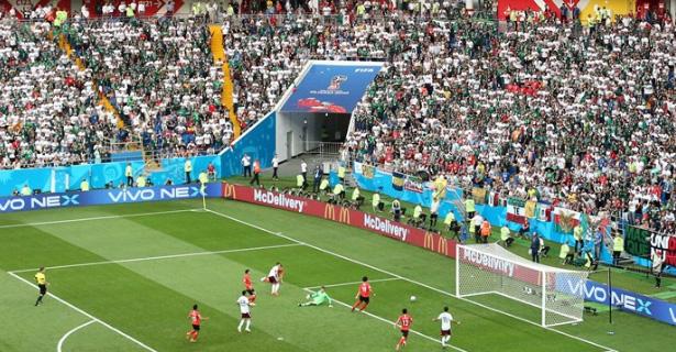 México bate a Coreia do Sul e fica perto da classificação