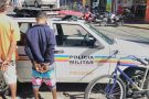 Pará de Minas: PM prende dupla por receptação e recupera bicicleta furtada