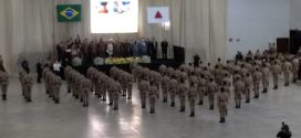 Polícia Militar forma mais 68 soldados para atuar em 28 municípios da região Centro-Oeste de MG
