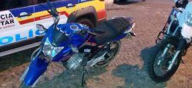 Pará de Minas: indivíduo é preso com motocicleta roubada e placa clonada