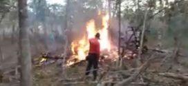 Identificadas vítimas de queda de avião em Bom Despacho