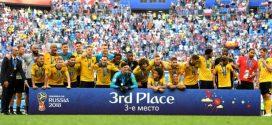 Bélgica vence e conquista terceiro lugar na Copa do Mundo 2018