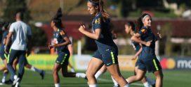 Seleção Brasileira Feminina Sub-20 treina para a Copa do Mundo da categoria