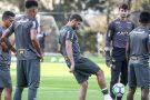 Atlético realiza penúltimo treino antes da viagem a Porto Alegre