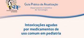 Guia orienta para casos de ingestão de produtos tóxicos
