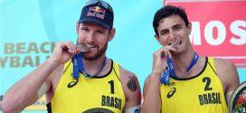 Em Moscou, Alison e André conquistam primeira medalha da parceria