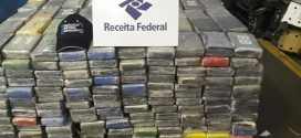 Operação conjunta apreende mais de uma tonelada de cocaína no Porto de Santos