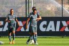 Atlético treina forte para enfrentar o Botafogo