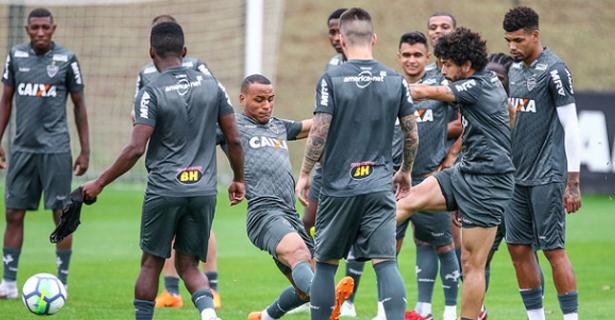 74ac603af7 Preparação do Galo para enfrentar o Botafogo tem sequência com ...
