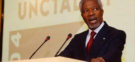 Líderes mundiais lamentam morte de ex-secretário-geral da ONU
